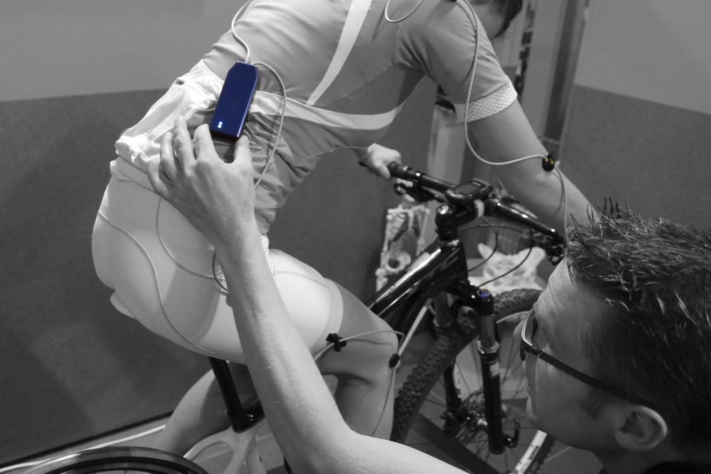 Retul 3d uitgebreide fiets meting